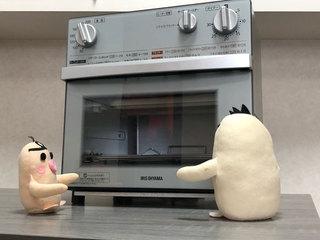 イケダム in ノンフライ熱風オーブン