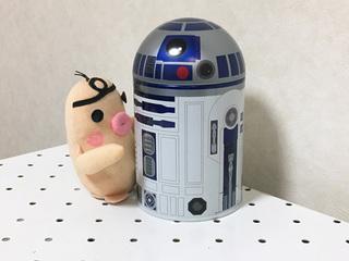 イケダム in R2-D2缶