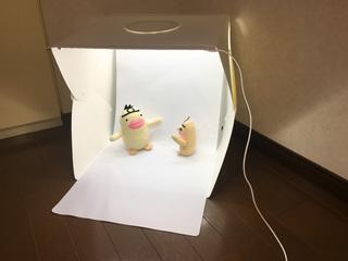 イケダム in 撮影ボックス