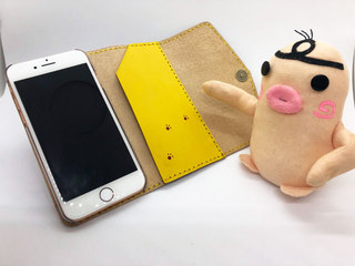 ミニダム in iPhone8 カバー(内側)