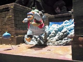 イケダム in ドラクエミュージアム トルネコのジオラマ