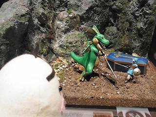 イケダム in ドラクエミュージアム テリーのジオラマ